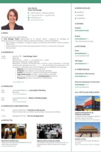 Ejemplos de Currículum Vitae Gratis Free