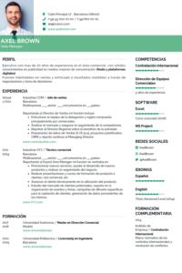 iCulum Ejemplos de Currículum Vitae Gratis