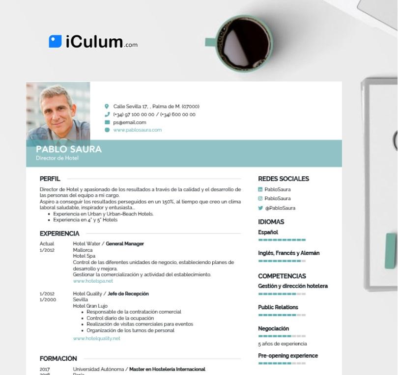 iculum cv senior taza ordenador blanco - logo