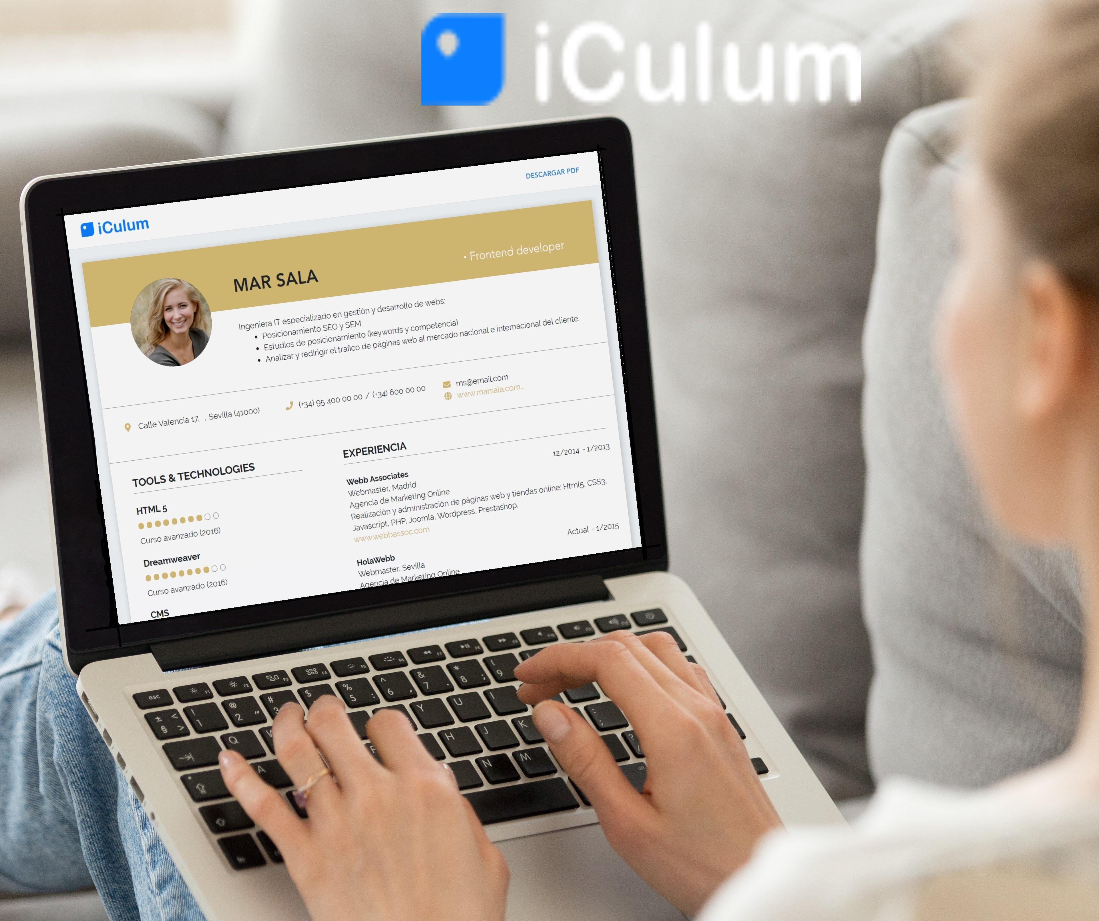 iCulum Currículum Online
