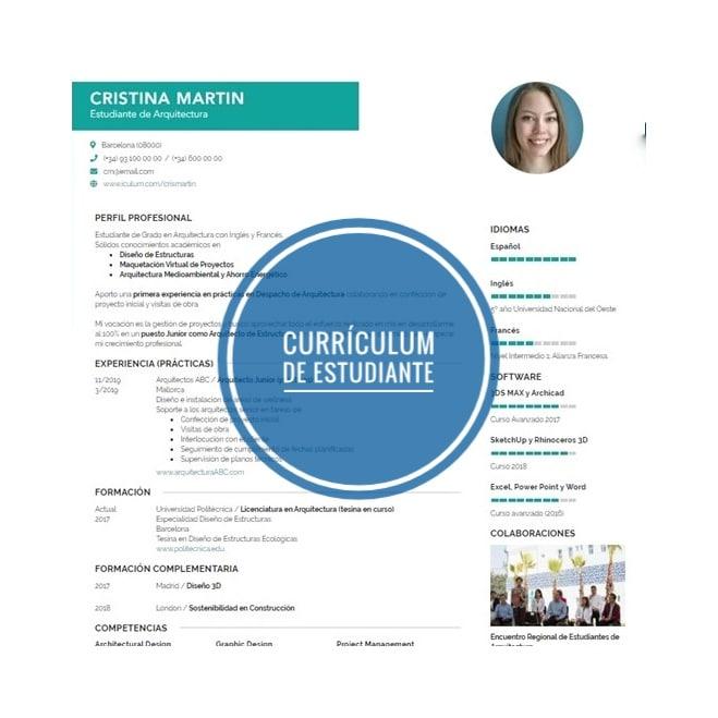 Curriculum de Estudiante iCulum