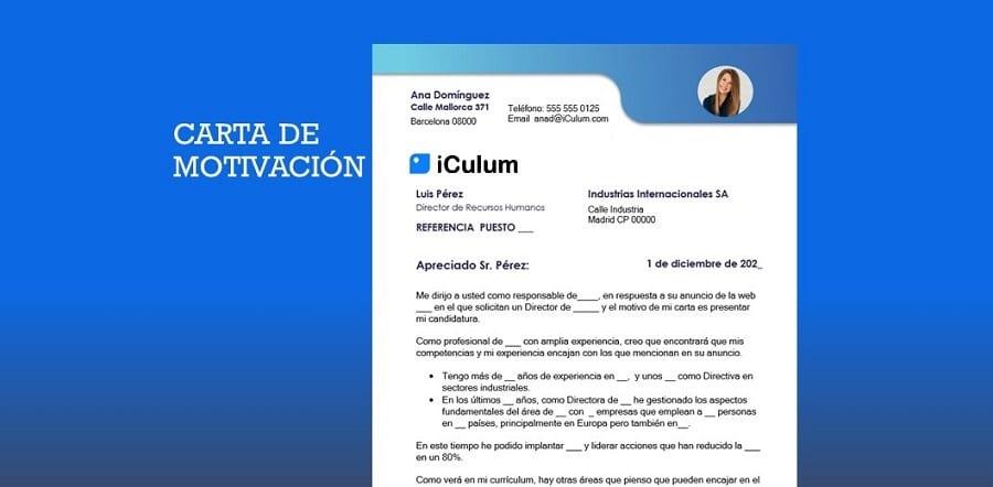 Carta de Motivación iCulum