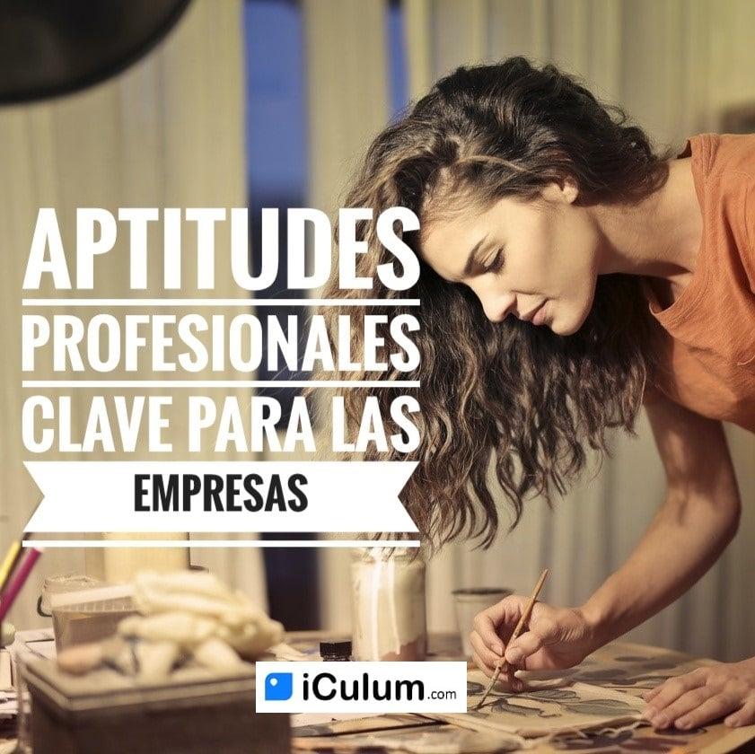 Aptitudes profesionales en el currículum iCulum