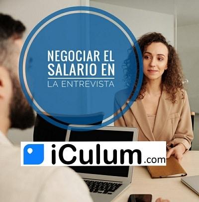 Negociar el sueldo en la entrevista iCulum