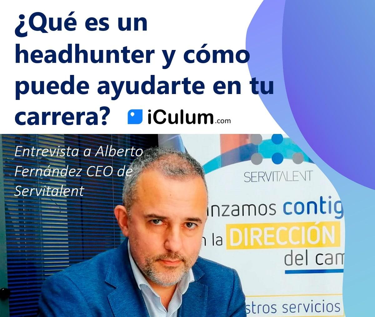 headhunter iculum servitalent Alberto Fernandez